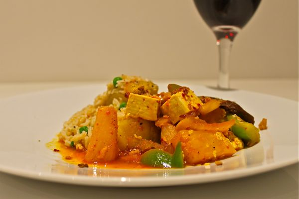 Sweet and Sour Tofu 600