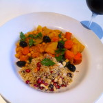 Spiced Moraccan Tagine with Jewelled Quinoa