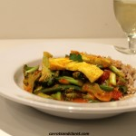 Thai Red Curry with Broccoli and Tofu