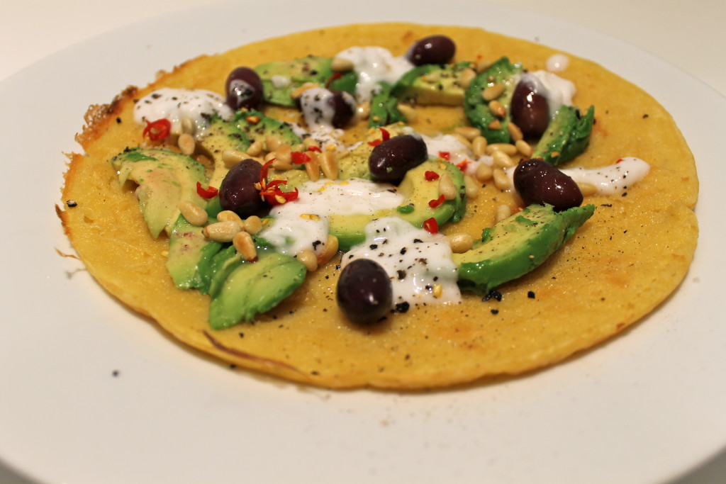 Avocado Chickpea Pancakes