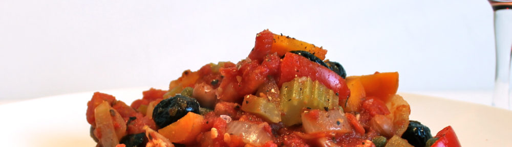 Red Pepper and Borlottie Bean Casserole