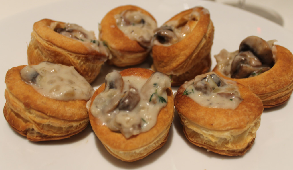 Mushroom And Brandy Vol Au Vents Carrots And